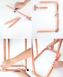 Copper Projects Brilliant Diy Copper Leather Stool Spades Silk