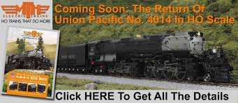 the return of union pacific no 4014 in ho scale mth electric trains