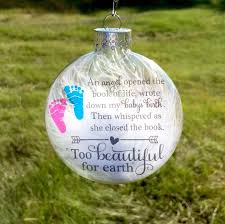 infant loss christmas ornaments infant loss ornament memorial baby ornament pregnancy loss