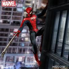 one 12 collective marvel spider man u2013 mezco toyz