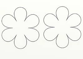 paper flower template clip art library
