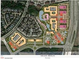 Frisco Texas Map Dubai Based Invest Group Overseas Announces Plans For The Gate In