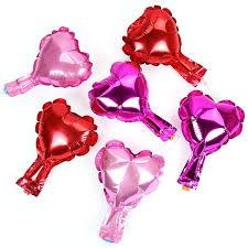 heart balloons 6 pink foil heart balloons 5 pipii