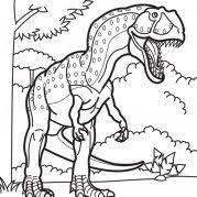 deinonychus coloring dinosaur