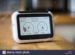K Henarbeitsplatte Domestic Electricity Meter Uk Stockfotos U0026 Domestic Electricity