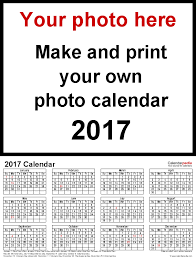Photography Order Form Template Excel Photo Calendar 2017 Free Printable Word Templates