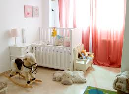 Nursery Girl Curtains by Choosing Your Nursery Window Treatments Interior Design Explained