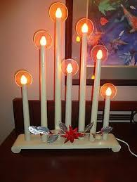 giant old 8 light c 7 electric christmas window candles 08 20