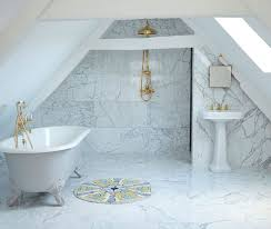 designing a bathroom the mix of modern and classic in italian marble bathroom home