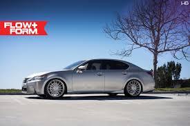 lexus gs 350 performance lexus gs350 with ff15 in liquid silver hre performance wheels