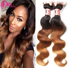 ombre weave aliexpress buy ombre human hair weave malaysian hair