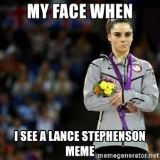 Lance Stephenson Meme - my face when i see a lance stephenson meme unimpressed mckayla