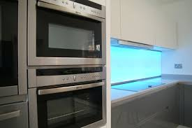 Kitchen Splashback Ideas Uk Illuminated Splashbacks Litetile