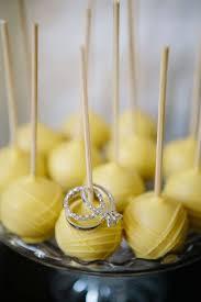 wedding ring cake pops engagement ring cake pop
