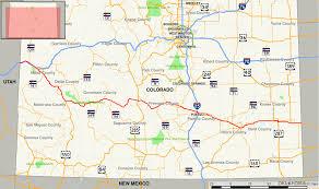 map of az az milepost maps inside map of colorado mile markers