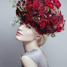 flower headpiece clarke london flower with