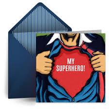birthday superhero free birthday card for him happy birthday