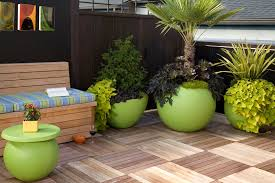 Office Pots by How To Decorate Outdoor Pots Of Plants Simple Home Architecture