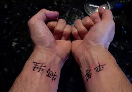 35 artistic chinese symbol tattoos creativefan