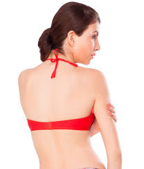 buy nagina red cotton fancy bra online at best prices in india