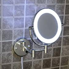 round makeup mirror with lights wall makeup mirror with lights wizrd me