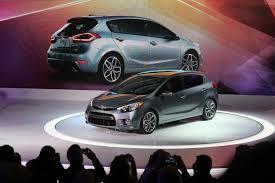 mitsubishi gdi turbo 2014 kia forte 5 door debuts with 201hp turbo gdi video