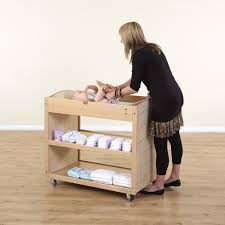 Changing Table Baby Buy Wooden Mobile Baby Changing Unit Tts