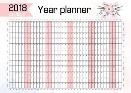 printable annual planner year planner gidiye redformapolitica co