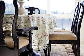 beautiful dining room tablecloths gallery home design ideas