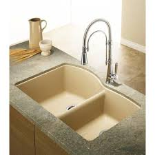 Composite Undermount Kitchen Sinks by Blanco Silgranit Natural Granite Composite Undermount Kitchen