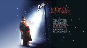 Miracle On 34th Miracle On 34th Street 1994 Uk Dvd Menu Youtube