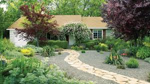 Walkway Ideas For Backyard by Great Garden Paths Sunset