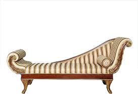 7 5ft solid mahogany u0026 gold victorian chaise lounge w pillow