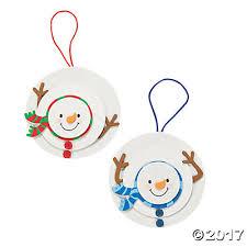 snowman christmas ornament craft kit