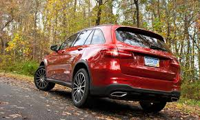 mercedes jeep 2016 red 2016 mercedes benz glc 300 4matic review autoguide com news