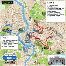 Map Rome How To See Rome In A Hurry Our Two Day Sightseeing Whirlwind