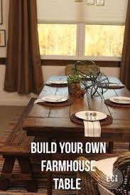 Build Your Own Kitchen Table by Love Farm Tables Easy Step By Step Instructions On How To Make