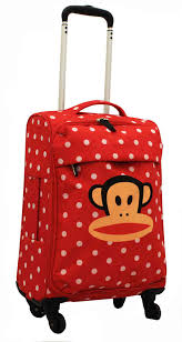 lightest cabin bag paul frank worlds lightest 4 wheel spinner cabin luggage trolley