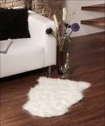 interiors magnificent white fuzzy rug black and white shag area