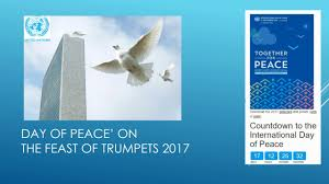 feast of trumpets vs un day of peace 2017