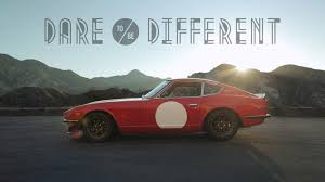 classic datsun dare to be different in a datsun 240z youtube