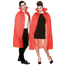 Vampire Cape Halloween Devil Vampire Cape With High Collar Adults Red Black