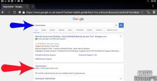 google teamviewer teamviewer quick support install