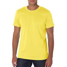 light yellow t shirt printed bella canvas unisex short sleeve t shirts 3001c discountmugs