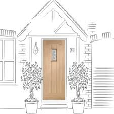 Triple Glazed Patio Doors Uk by Xl Joinery Cottage Oak External Door Leader Doors