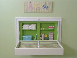 Wall Mounted Changing Table For Home How To Build A Fold Away Changing Table Diy Network Small