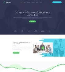 walton business consulting wordpress theme