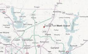map of dallas fort worth dallas fort worth airport location guide