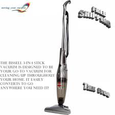 bissell 3 in 1 stick floor vacuum cleaner hardwood floors clean