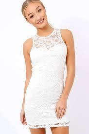 white bodycon dress crochet bodycon dress marcella